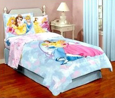 Disney Princess Full Comforter Jersey Knit