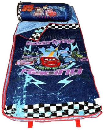 Disney Cars Slumber Mat & Pillow