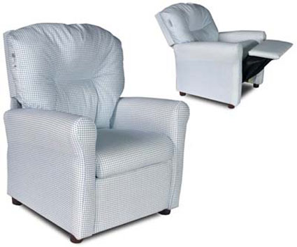 Contemporary Childrens Recliner Chair