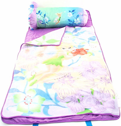 Disney Tinkerbell Slumber Nap Mat & Pillow Set