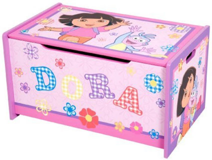 Dora the Explorer Toy Box by Delta