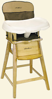 Out of stock Eddie Bauer Wooden High Chair