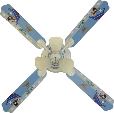 Out of Stock Pirate Boys Ceiling Fan with Lights