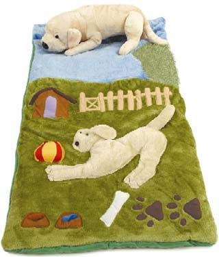 Golden Retriever Kids Sleeping Bag