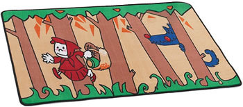 Little Red Riding Hood Kids Activity Carpet