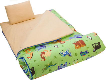 Wild Animals Sleeping Bag