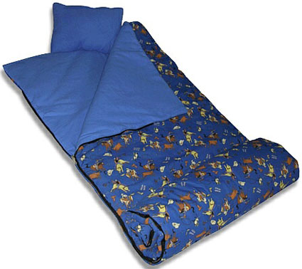 Boys Cowboy Sleeping Bag