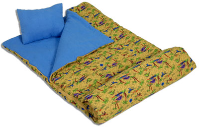 Dinosaurs Children's Sleeping Bag