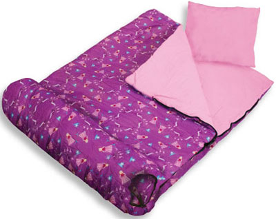 Out of Stock Princess Girl Sleeping Bag