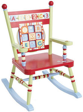Alphabet Soup Rocker Free Shipping