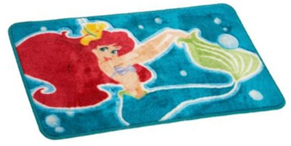The Little Mermaid Ariel Bath Rug Kids Rugs
