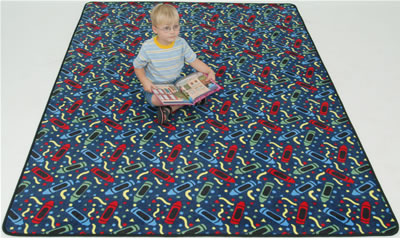 Colortime Child's Activity Carpets
