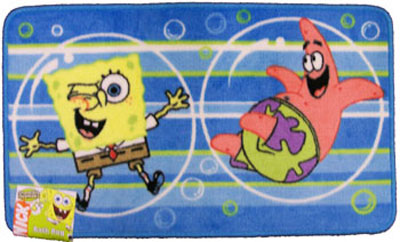 Spongebob Squarepants Kids Bath Rug Kids Rugs