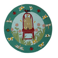 Garden Friends Kids Area Rug