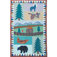 Mountain Whispers Kids Area Rug