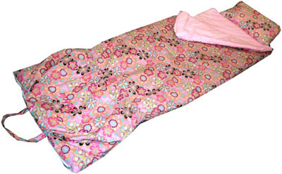 Fandango Flowers Girls Sleeping Bag