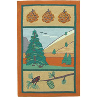 Pinecone Kids Area Rug