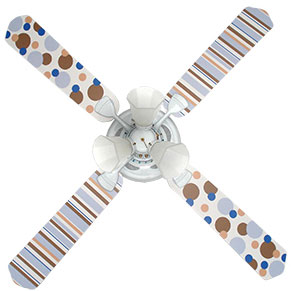 Out of Stock Dots & Stripes Ceiling Fan with Lights