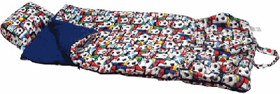 Soccer World Kids Sleeping Bag