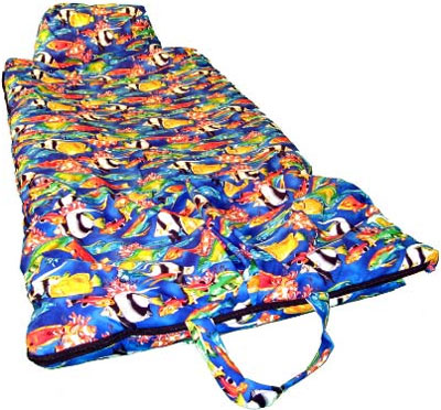 Pacific Reef Fish Kids Sleeping Bag