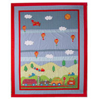 Big City Nursery Area Rug