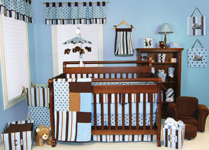 Max 4 Pc Crib Bedding Set by Trend Lab Free Shipping