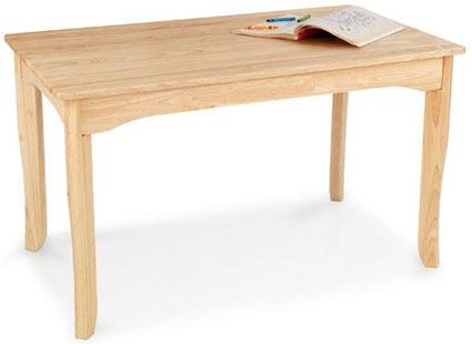 Long Oslo Kids Table - Natural