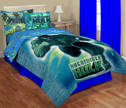 The Incredible Hulk Twin Comforter