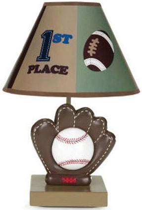 The Big Game Nursery Lamp and Shade by NoJo