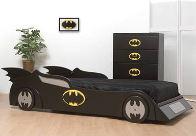 Bats Twin Car Bed
