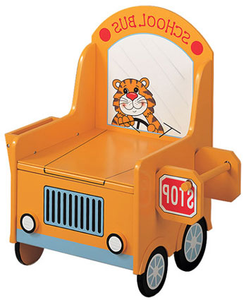 School Bus Potty Chair by Teamson Kids