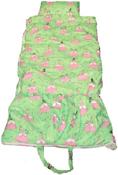 Glitter Princess Childrens Sleeping Bag