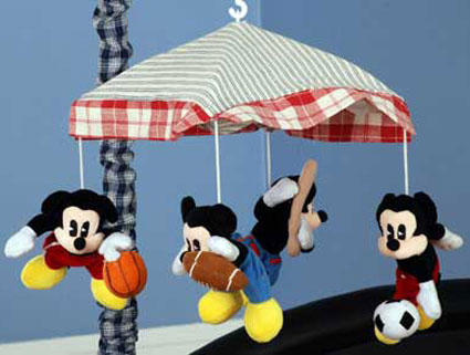 Out of stock Vintage Mickey Musical Mobile by Kidsline