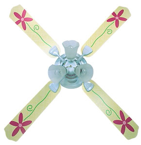 Out of Stock Lazy Daisy Girls Room Ceiling Fan with Lights