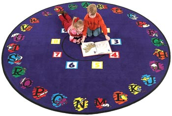 Super Circle Kids Activity Carpet