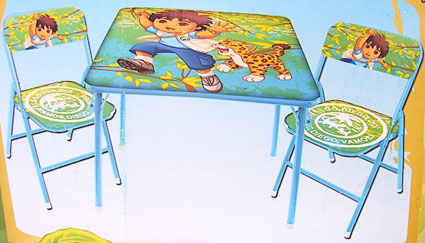 Out of stock Go Diego Go Folding Table and Chairs Set