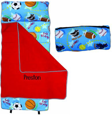 Play Ball Sports Boys Nap Mat
