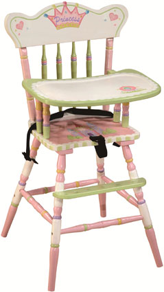 Princess Girls High Chair