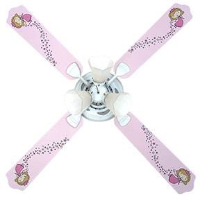 Out of Stock Fairy Princess Baby Ceiling Fan with Lights