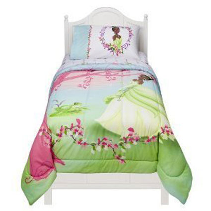 Disney The Princess & the Frog Microfiber Comforter - Pink (Twin)