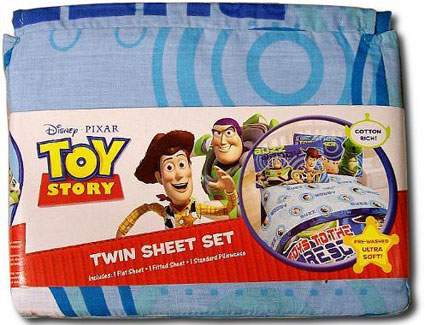 Disney Toy Story Twin Sheet Set
