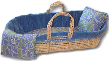 Moses Basket & Bedding Set by Sleeping Partners Free Shipping