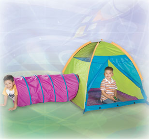 Play With Me Childrens Tent & Tunnel Combo