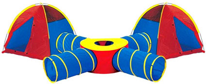 "Tunnels of Fun ""Super Play"" Jumbo Junction Set"