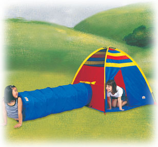 Find-Me Play Tent & Tunnel Combo
