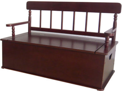 Simply Classic Bench Seat w/ Storage Free Shipping
