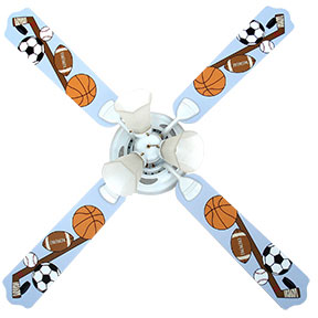 Out of Stock Sports Fanatic Kids Ceiling Fan with Lights