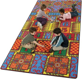 Games That Teach Kids Carpet