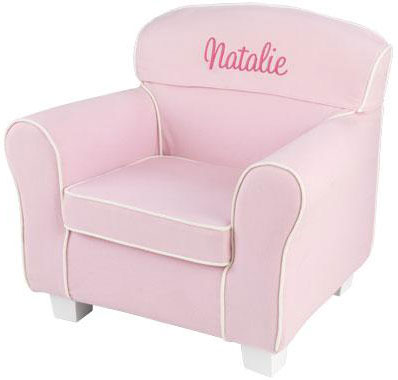 Laguna Chair with Pink Slip Cover