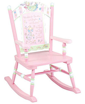 Fairy Wishes Rocking Chair Free Shipping